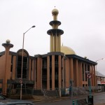 Mosque being built in Reading