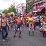 Participants in the 2012 London Gay Pride