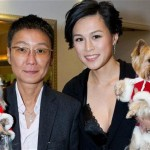 Cecil Chao Sze-tsung and his daughter Gigi