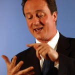 David Cameron. Counting votes, or counting the defeict?