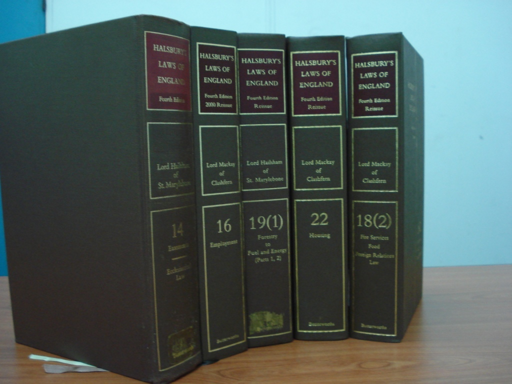 Halsburys Laws of England Fifth Edition #49 Financial Services an