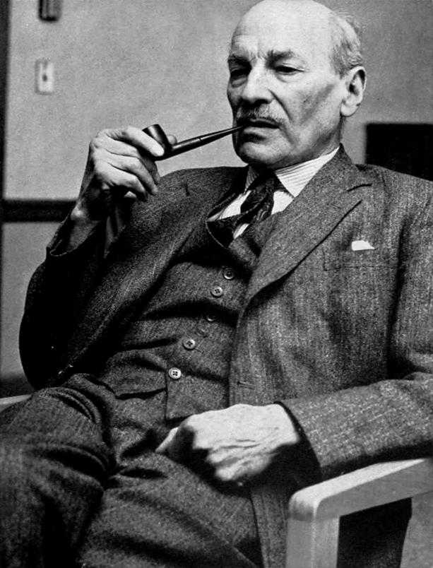 Clement Attlee cold war