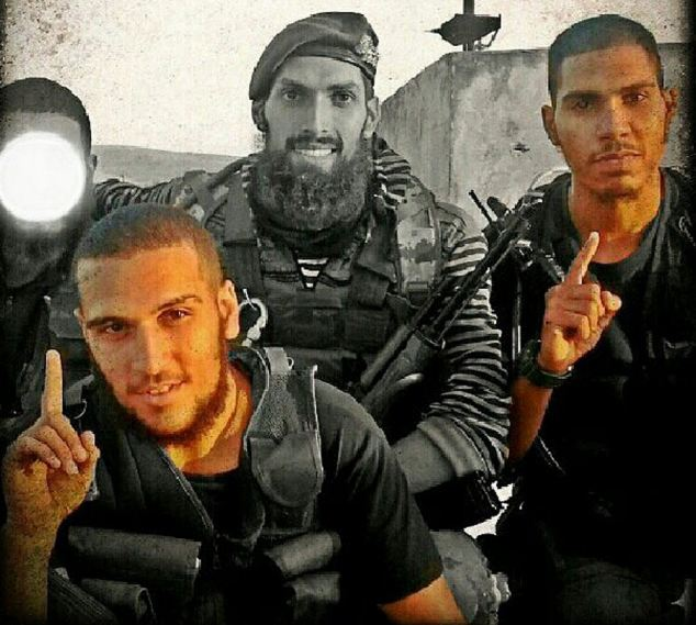 Ellekhlifi (right), funded jihad in Syria by mugging well to do Londoners.