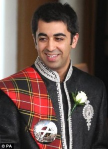 Humza Yousef. What tartan is that?