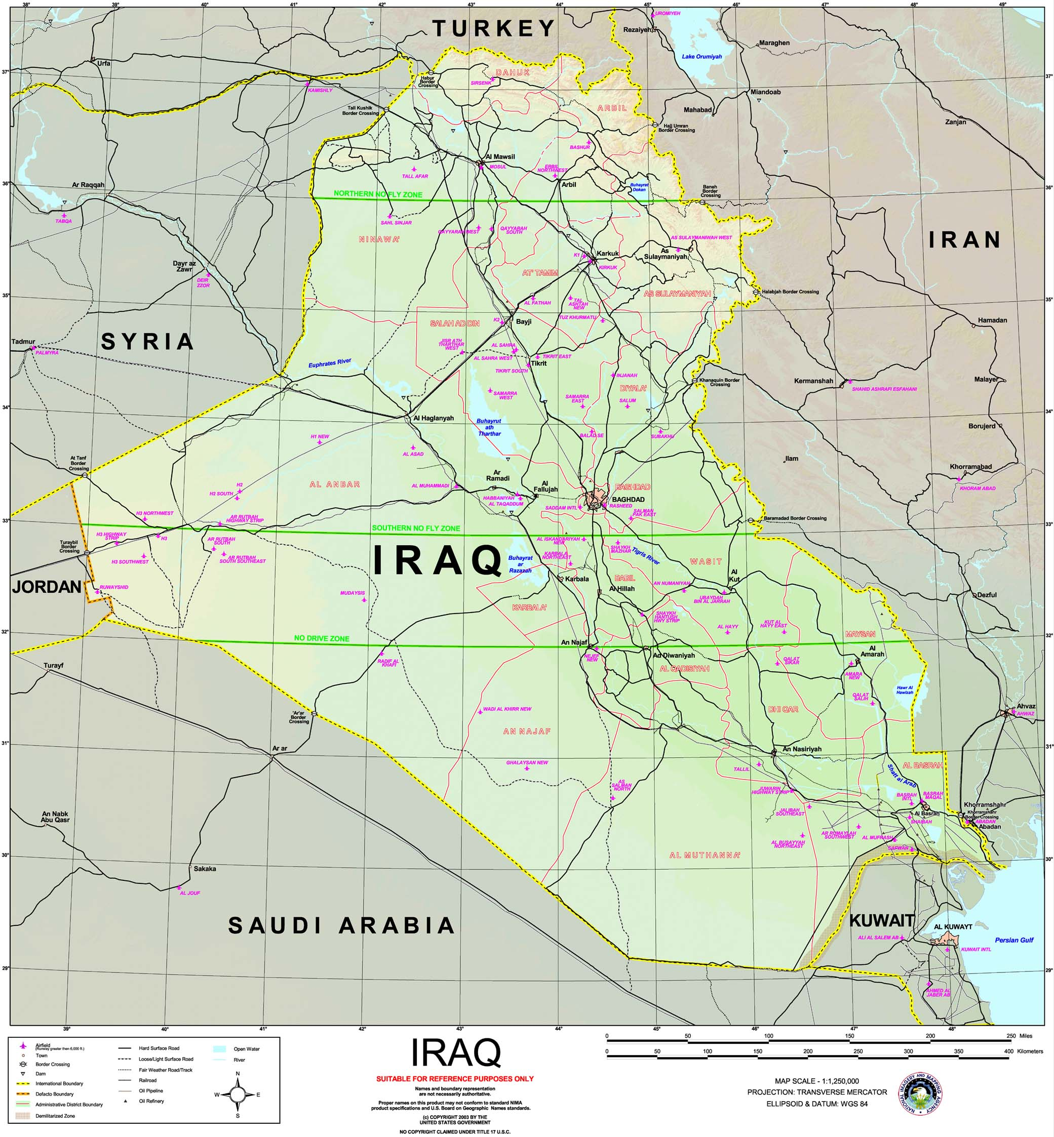 Travel To Iraq From Uk