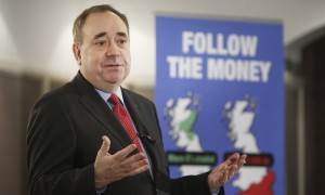 Alex Salmond - fiddling while Iraq burns.