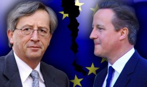 Negotiations regarding Britain's status in the EU will not take place while Juncker is in office.