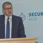 Andrew Parker, head of MI5, the UK Security Service.