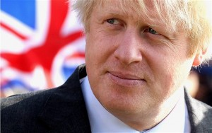 Rt Hon Boris Johnson MP, front-runner of the Tory leadership candidates