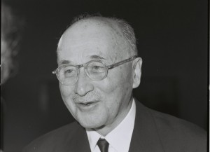 Jean Monnet, President of the High Authority of the European Coal and Steel Community (ECSC) from 1952 1955
