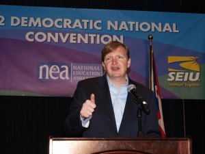 Jim Messina, advisor to the Democratic Party's Hilary Clinton, attended Bilderberg last year.