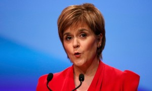 Nicola Sturgeon: 'a rat swimming to join a sinking ship'