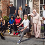BBC2's pomotional picture of the 'Muslims Like Us' housemates.