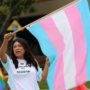 Transgender heckler