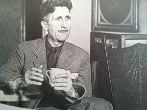 in his book '1984' George Orwell, written in 1948, predicted that empire-building governments would engineer a continual state of war.