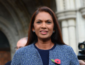 Gina Miller, who brought the legal action.