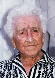 Jeanne Calment at 120.