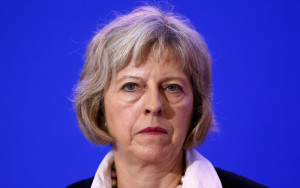 Theresa May: pro-sodomy and pro-abortion.