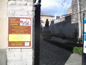 John Wesley's Chapel in Broadmead