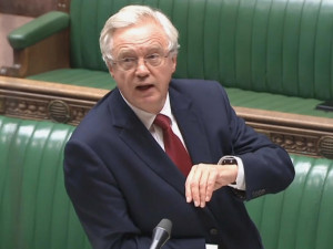 Rt Hon David Davis arguing for Article 50 in the House of Commons