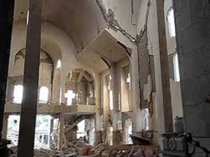 Churches in Syria have been looted and damaged by jihadists