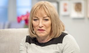Frank Maloney as 'Kellie'. It takes more than a frock and some lipstick to be a woman.
