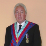 Bristol Magistrate Robert Stacey in his Freemason regalia.