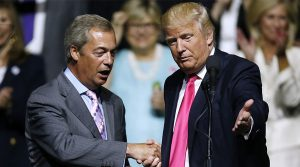 Key UK Trump ally Nigel Farage MEP has condemned the attack.