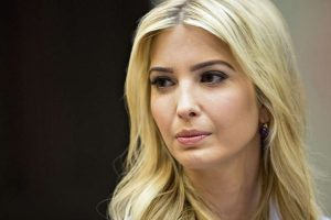 Donald Trump waxed emotional about beautiful babies but it was Ivanka Trump who started him off.
