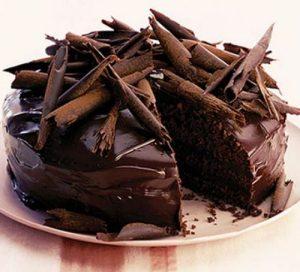 BBC's beautiful chocolate cake