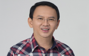 Basuki Tjahaja Purnama, known as 'Ahok', is a Christian who was standing for re-election in Jakarta