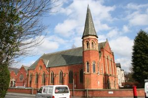 Didsbury Mosque was originally a Methodist church