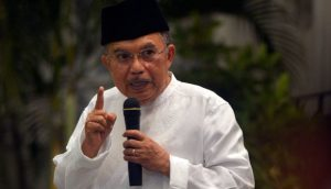 Jusuf Kalla, Vice-President of Indonesia, is a hard-line Islamist