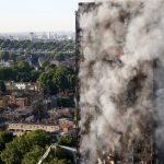 Grenfell Tower was gutted by the fire, which appears to have spread through external cladding