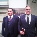 Michael Overd (l) and Michael Stockwell were acquitted at Bristol Crown Court