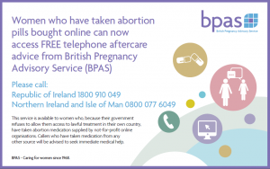 BPAS; always chasing new market opportunities. 'Caring for women since 1968?' Doing abortions, that means.