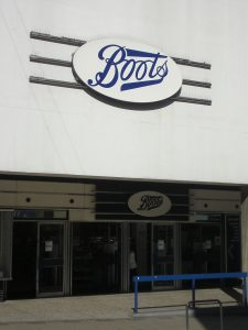 Boots the Chemist - caved in to pressure.