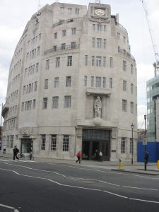 Broadcasting House, headquarters of the BBC