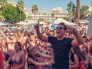 Majorca's Magaluf has become a byword for debauchery.