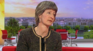 Mary Douglas speaking about the choose gender farce on BBC