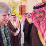 Theresa May getting on a bit too well with Saudi Arabia's Crown Prince Muhammad bin Nayef