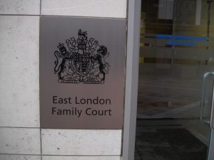 East London Family Court, situated in a tower block at Canary Wharf, hears cases brought by Tower Hamlets Social Services