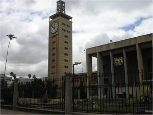 The Kenya Parliament Building
