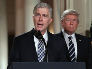 Donald Trump nominated Neil Gorsuch to the Supreme Court. Will his Supreme Court appointments define his legacy?
