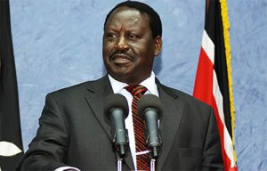 Raila Odinga is challenging for the post of President