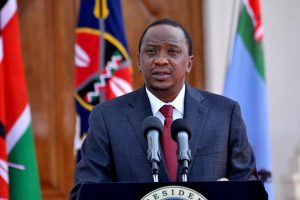 Uhuru Kenyatta is running for re-election as President
