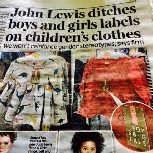 Newspaper article about John Lewis, as tweeted by Piers Morgan