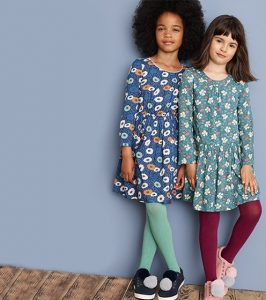 Pretty dresses in the Girlswear section of the John Lewis online shop.