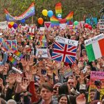 Australia has voted for 'gay marriage' and gay activists are delighted. This march took place in Melbourne