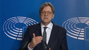Pro-Soros: Guy Verhofstadt MEP